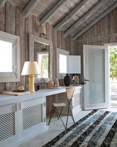 "18.4k Likes, 91 Comments - ELLE DECOR (@elledecor) on Instagram: ""Who could resist a breezy getaway at this bungalow in Portugal?   Photo: @nicolas4matheus; Design:…"""