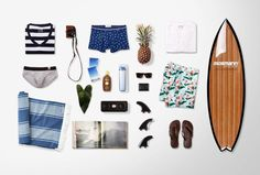 Surf Essential #flatlay #surfday #meanswear
