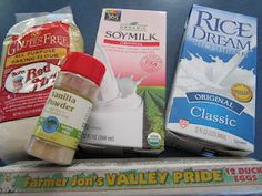 Check out my Milk & Egg Substitutions in Baking and Meal Preparation for Allergy Friendly Kitchens.