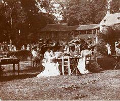 The Queen's Hamlet garden party June 17 1901