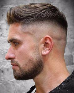 The Short Quiff - Best Quiff Haircuts For Men Short Quiff, Short Hair Cuts, Men Hairstyle Short, Men Haircut Short, Mens Haircut Styles, Mens Fade Haircut, Short Pixie, Cool Mens Haircuts, Popular Haircuts