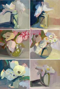 lisa daria - painting-a-day project <3