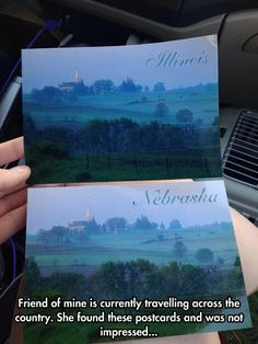 Postcards Are Lying