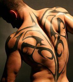 tribal tattoo men