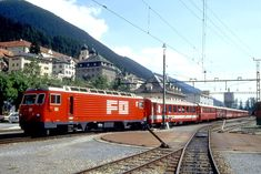 Chur, Zermatt, Swiss Railways, Locomotive, Trains, Photos, Photo Illustration, Locs, Train