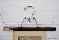 Vintage Wooden Hanger  Photo Display Hanger  by KnickofTime, $9.25