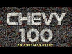 'Chevy100, An American Story' premieres in Detroit check us out http://bit.ly/MrRBQG