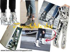 Trend Alert 18´ - Silver Boots