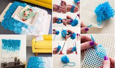 3 in 1: Pom Pom Rug,Wall Hanging and Table Cover - Home Design - Google+