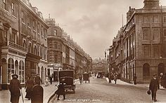 Milsom Street, Bath early 20th century