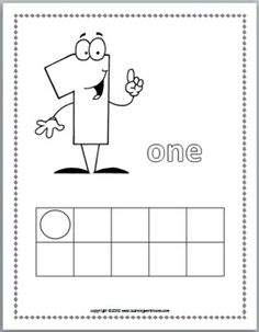 Numbers 0 10 Coloring Book with Ten Frames - Marcia Murphy - TeachersPayTeachers.com