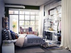 Idea for a small bedroom