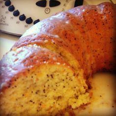 Thermomix Orange Poppy Seed Cake