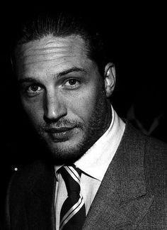 Tom Hardy...probably the second guy that's fabulous with facial hair. Stopping now...lol