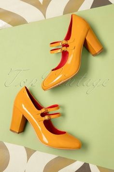 Banned Golden years mustard Shoes 402 80 19267 07182016 009W