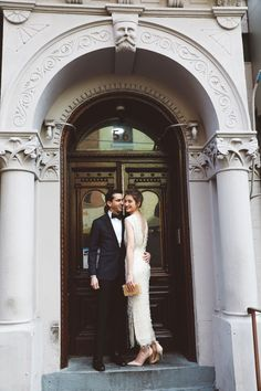 Lizzie & Ian glamorous NY City Hall Wedding and Chinatown shoot Courthouse Wedding Photos, Beach Wedding Photos, Wedding Poses, Wedding Photoshoot, Wedding Shoot, Wedding Ideas, Wedding Pictures, Wedding Details, Vintage Wedding Photos