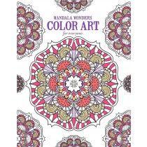 Mandala Wonders Color Art for Everyone - Front Cover