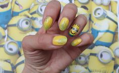 Jersey Girl, Texan Heart: Minion Nails Then and Now