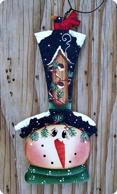 Snowman decoration...