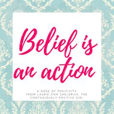"""""""Belief is an action""""  When you feel too tired, too uninspired, too unmotivated, too worn-out, too worried, or too stressed out, take pause. Don't give up on your dreams, just take a moment to breathe, rest and reset. When you are ready, trust your beliefs, trust in yourself and let the magic of taking action put you back on your path. www.contagiouslypositive.ca/outofthedarkness"""