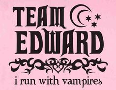 Team Edward all the way. This is not my photo, I would like to give credit to whoever made it :3