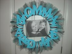 A Squared Craft Affairs: Ashley - Mother's day wreath!