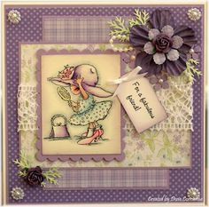 Dena's Stamping Corner: Search results for new hat Rubber Stamps Uk, Open Rose, Wild Orchid, Card Maker, Lily Of The Valley, Rose Buds, Homemade Cards, Cardmaking, Decoupage