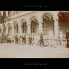Roma Sparita - Collegio di Santa Maria 1901vprocessione corpus domini