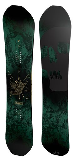 The Black Snowboard of Death | CAPiTA Snowboarding. A board i would love to own!!!