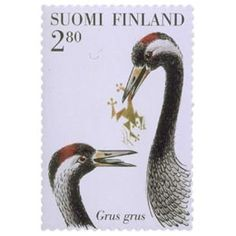 Finland, Stamps, Bird, Birds, Travel, Seals, Stamping, Postage Stamps, Stamp