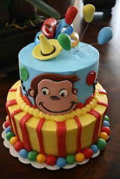 Curious George Cake...