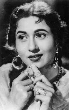 this image of Madhubala was almost on  every indian teenage girl's wall