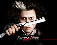 Benjamin Barker/Sweeney Todd - Sweeney Todd: Demon Barber of Fleet Street.