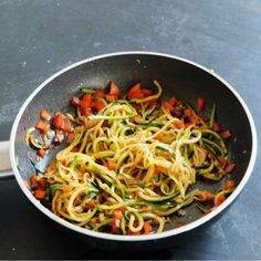 Spicy Capsicum Zucchini Noodles Sauteing zucchini noodles is a good way to lightly cook your zucchini noodles if you like them cooked. These noodles are sauteed for about 3 minutes, to make a very quick meal. Spices and capsicum have been added to these noodles but you can easily add in cooked meat, seafood or...Read More »