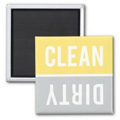 Dishwasher Magnet CLEAN | DIRTY - Yellow Gray In our offer link above you will seeHow to          	Dishwasher Magnet CLEAN | DIRTY - Yellow Gray today easy to Shops & Purchase Online - transferred directly secure and trusted checkout...