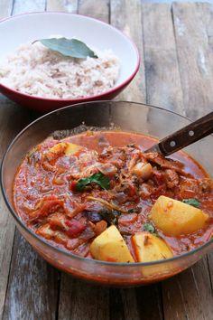 Mauritian Chicken Daube (Creole Spiced Tomato Stew)