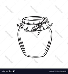 Jar of honey or glass jar Royalty Free Vector Image , Kids Art Class, Art For Kids, Mason Jar Clip Art, Money Making Websites, Cocktails Vector, Chalkboard Vector, Fruit Icons, Vintage Banner, Page Decoration