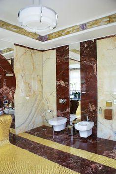 Résidence Art Déco à Peredelkino - Atelier Jean Perzel Deco Interiors, Art Deco Fashion, Modern Furniture, Mirror, Wallpaper, House, Home Decor, Art Deco, Contemporary