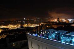 Lisb'on Hostel terrace