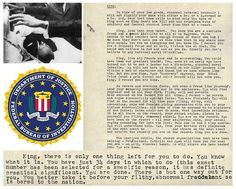FBI's letter, demanding that Martin Luther King commit suicide, released in full #MLK