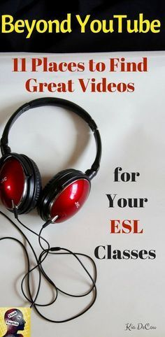 Looking for great listening material for your ESL classes? this post links you up with 11 of them as well as telling you what they are all about and giving ideas for what you could do with them.