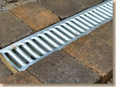 Exceptionnel Galvanised A Grating For Foot Traffic Areas. Ideal For Collecting Run Off  From A Patio.