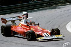 1975 GP Hiszpanii (Clay Regazzoni) Ferrari 312T