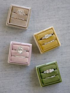 The Mrs. Box Heirloom Velvet Engagement Ring Box Shop Heirloom Velvet Engagement and Wedding Ring Boxes Meet the modern wedding heirloom, The Mrs. Box. Choose from 44 colors and countless personalized options to design your perfect match. #weddingplanning #bridesmaids #gifts #wedding #engagement #ring #velvet #custom #flatlay #styling #photography #ringbox #themrsbox The Eastleigh Classic Single Pear Shaped Engagement Rings, Engagement Gifts, Engagement Ring Boxes, Wedding Engagement, Porter Classic, Pear Ring, Velvet Ring Box, Wedding Ring Box, Double Ring