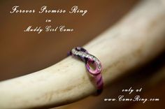 Camo Promise Ring - Forever and Infinity