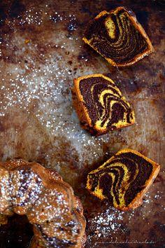 PANEDOLCEALCIOCCOLATO: Zebra Cake Vegan with Pumpkin and Zucchini ( Torta Zebrata Vegana con zucca e zucchine)
