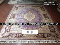 Persian silk carpet,100% handmade #chinacarpet#chinarug#silkcarpet#silkrug
