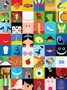 Disney Canvas Paintings, Disney Canvas Art, Disney Collage, Small Canvas Art, Cute Paintings, Mini Canvas Art, Disney Art, Disney Pixar, Toile Disney