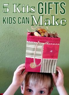 Gifts Kids Can Make - 5 Craft Kits You'll Love