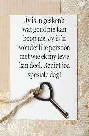 Birthday Wishes For Men, Birthday Qoutes, Happy Birthday Husband, Birthday For Him, Birthday Greetings, Birthday Cards, Friendship Wishes, Friendship Quotes, Afrikaanse Quotes